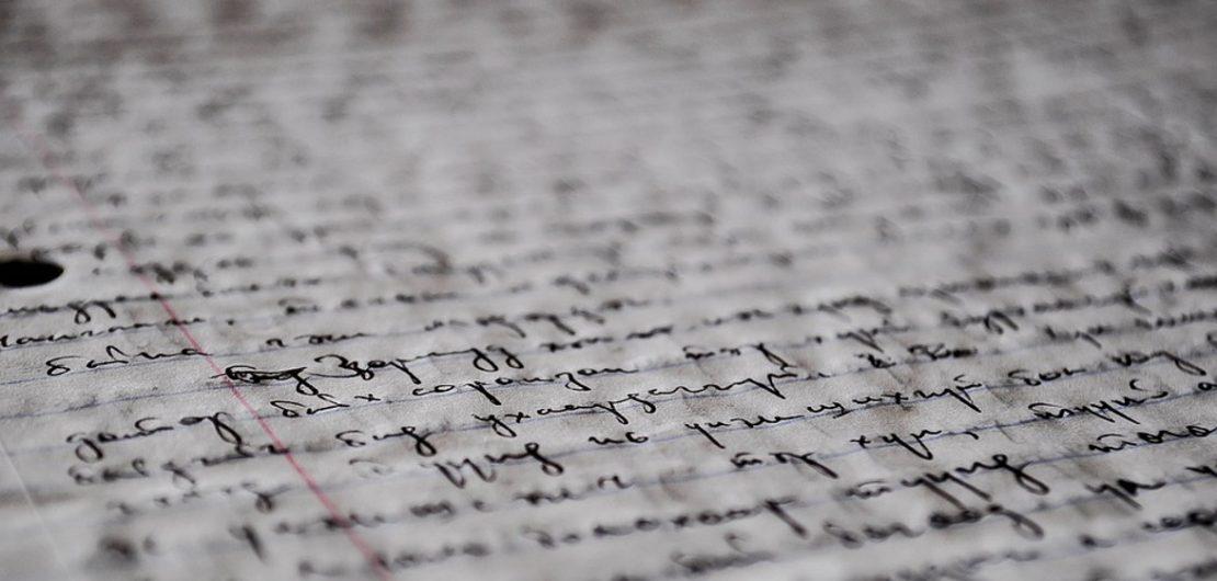 Gammalt manuscript